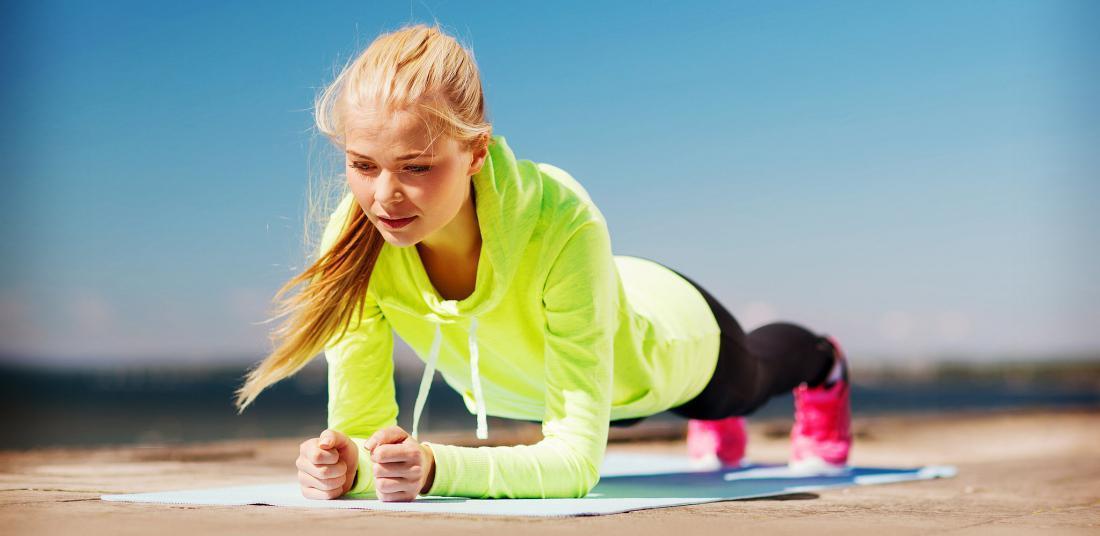 Продолжительность планки – интенсивные тренировки или зарядка для тела?